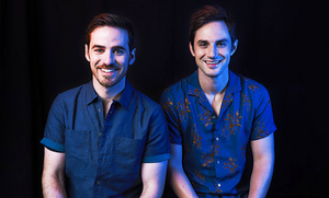 Colin O'Donoghue and Andrew J. West | TV Line Portrait | SDCC 2017