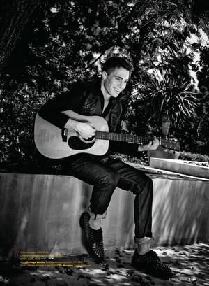 Colton Haynes - Essential Homme Photoshoot - 2012