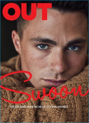 Colton Haynes - Out Magazine Cover - 2016
