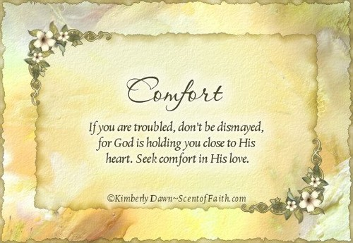God-The creator Hintergrund entitled Comfort