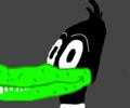 Daffy Duck as an Alligator 2 - daffy-duck fan art