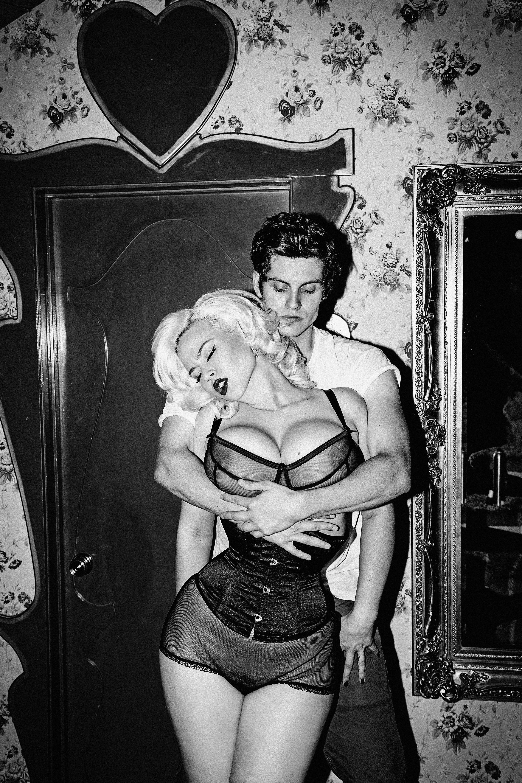 Daniel Sharman and Gia Genevieve - Galore Photoshoot - 2014