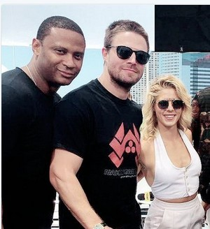 David, Stephen and Emily @ SDCC 2017