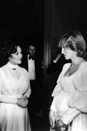 Diana And Dame Elizabeth Taylor