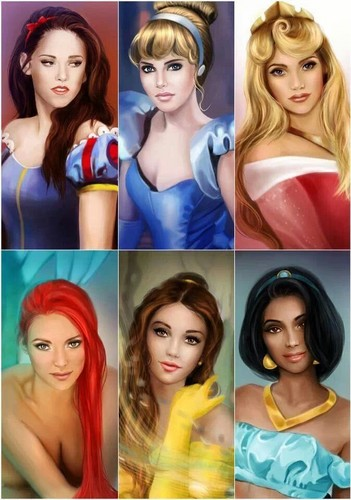 Disney wallpaper called Disney Princesses