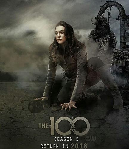 100 (Сотня) сериал Обои entitled Echo