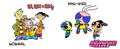 Ed Edd n Eddy - Normal and PPG-ified - ed-edd-and-eddy fan art