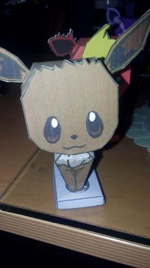 Eevee's papercraft