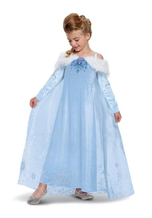 Elsa Olaf's La Reine des Neiges Adventure Halloween Costume