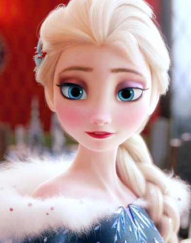 Frozen Hintergrund entitled Elsa