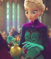 Elsa's Coronation  - disney photo