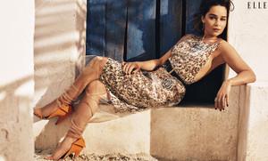 Emilia Clarke for Elle US Magazine