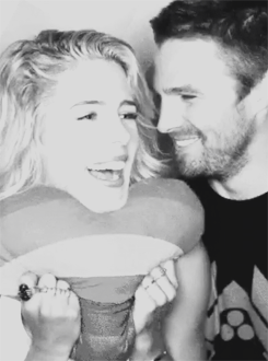 Emily & Stephen in BuzzFeed's SDCC GIF booth