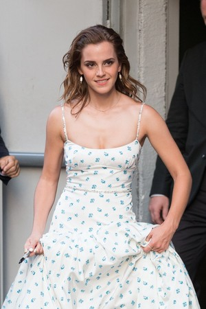 Emma Watson at the Paris Premiere of 'The Circle'