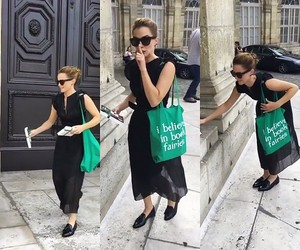 Emma Watson plays book fairy in Paris