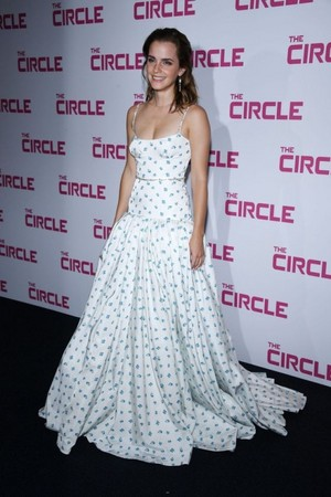 """Emma at the Paris premiere of """"The Circle"""""""