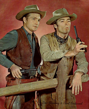 Eric Fleming and Clint Eastwood (Rawhide)