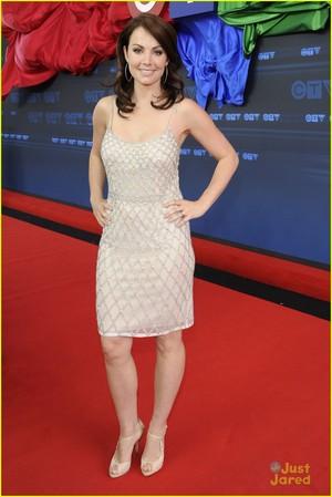 Erica Durance | CTV Upfront 2014 Red Carpet Arrival