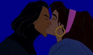 Esmeralda And Sarouch's First kiss Part 2