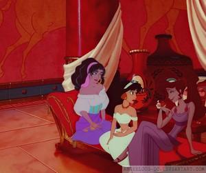 Esmeralda/Jasmine/Megara