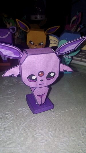 Espeon's papercraft
