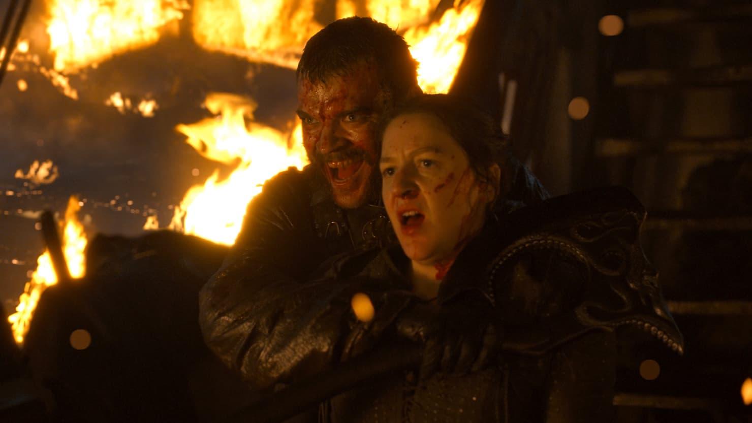 Euron and Yara Greyjoy in 'Stormborn'