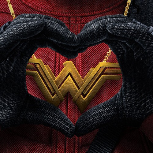 Wonder Woman (2017) wallpaper titled Even Deadpool loves Wonder Woman.