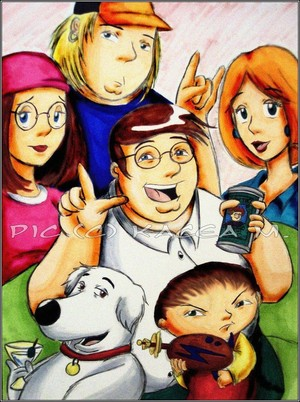 Family Guy Portrait