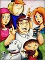 Family Guy Portrait - family-guy fan art