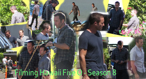 Filming Hawaii Five 0 - Season 8