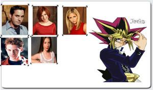 Five Times Buffy Yami Scooby Gang