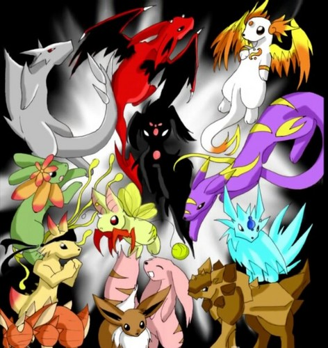 Eevee Evolutions Clan fondo de pantalla called Future Eeveelutions ?