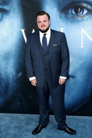 Game of Thrones Cast at the Ice Blue Carpet at Los Angeles Premiere