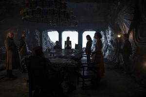Yara and Theon Greyjoy with Team Daenerys in 'Stormborn'