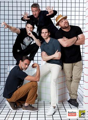 Gotham Dudes @ San Diego Comic-Con 2017