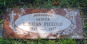Gravesite Of Brian Piccolo