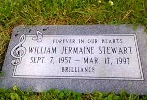 Gravesite Of Jermaine Stewart