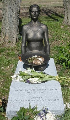 Gravesite Of Natasha Richardson