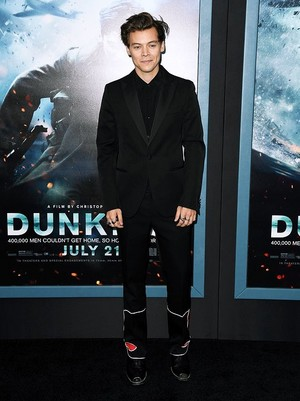 Harry at the New York premiere of Dunkirk