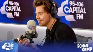 Harry on Capital FM with Roman Kemp