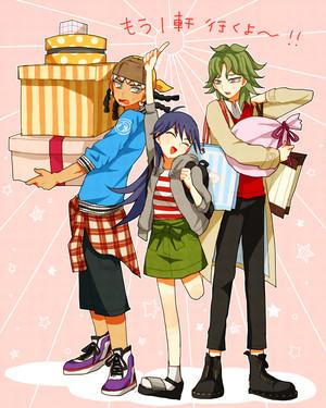 Hassleberry, Blair, Yusuke