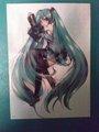 Hatsune Miku Poster - hatsune-miku photo
