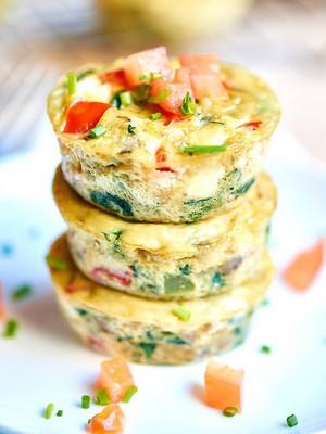 Healthy Egg マフィン Cups