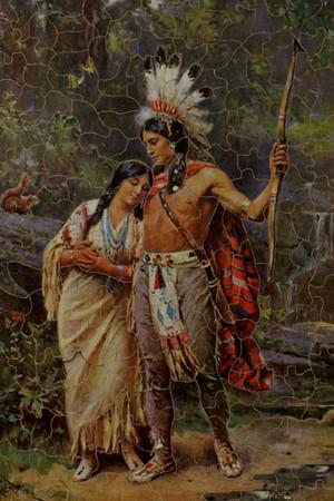 Hiawatha sa pamamagitan ng Edmund Dulac