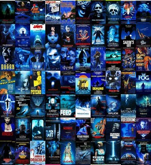 Horror Posters - Blue