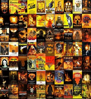 Horror Posters - Yellow/Orange