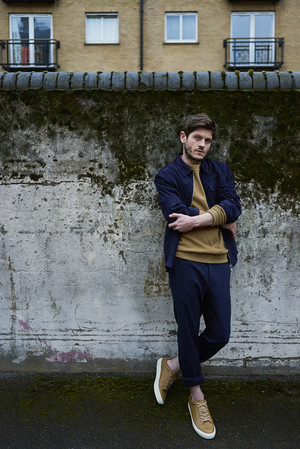 Iwan Rheon at The Laterals Photoshoot