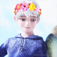 Jack Frost blume Crown