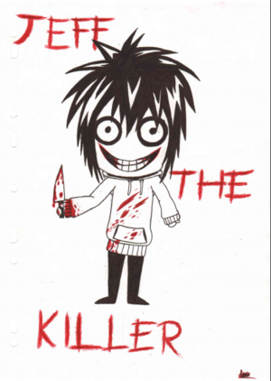 Jeff the killer Чиби