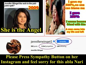 Jennifer WInget or brand ambassador of Sympathy ??